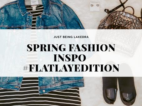 🌷Spring Fashion Inspo #FlatLayEdition🌷
