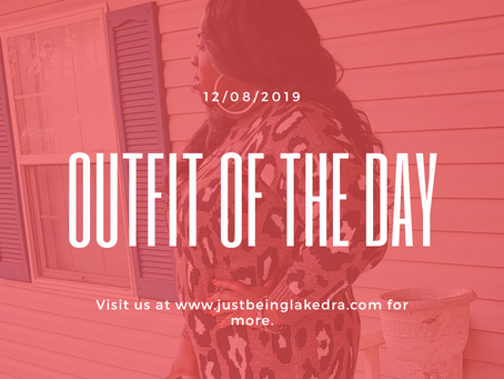 OUTFIT OF THE DAY🐆