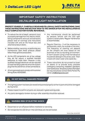 Safety-Installation_DeltaLum-LED-light_V