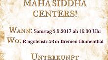Eröffnung MAHA SIDDHA CENTER AM 9.9.2017