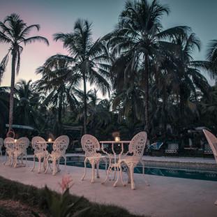 Restaurant pool side