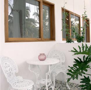 Balcony, double room