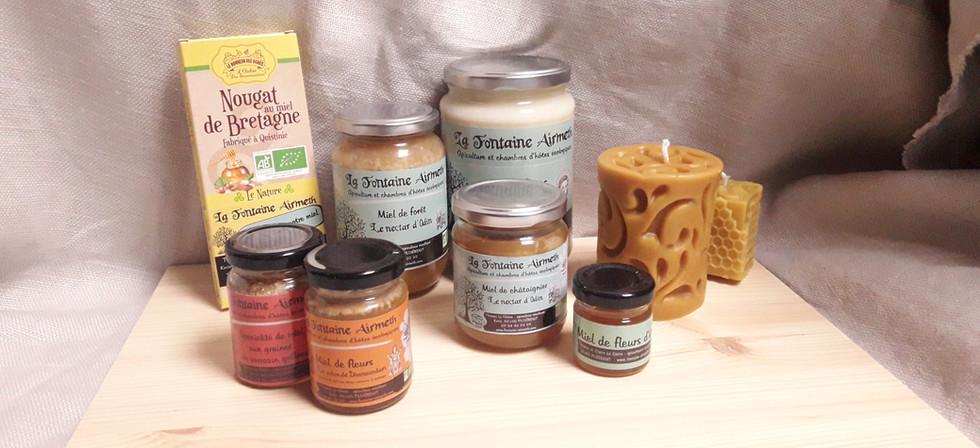FontaineAirmeth - produits ferme