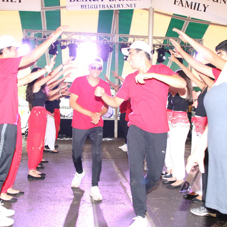 Dabke or Debkeh? Either way, these youth can dance!