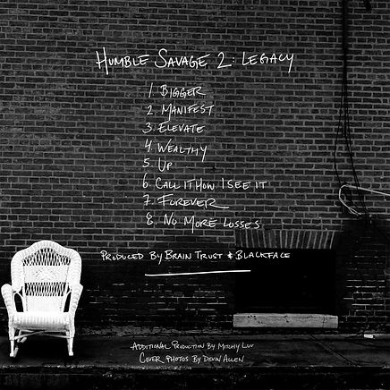 Humble Savage 2 Legacy Tracklist By Jay Wyse