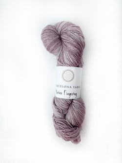 fingering lilac barcelona yarns