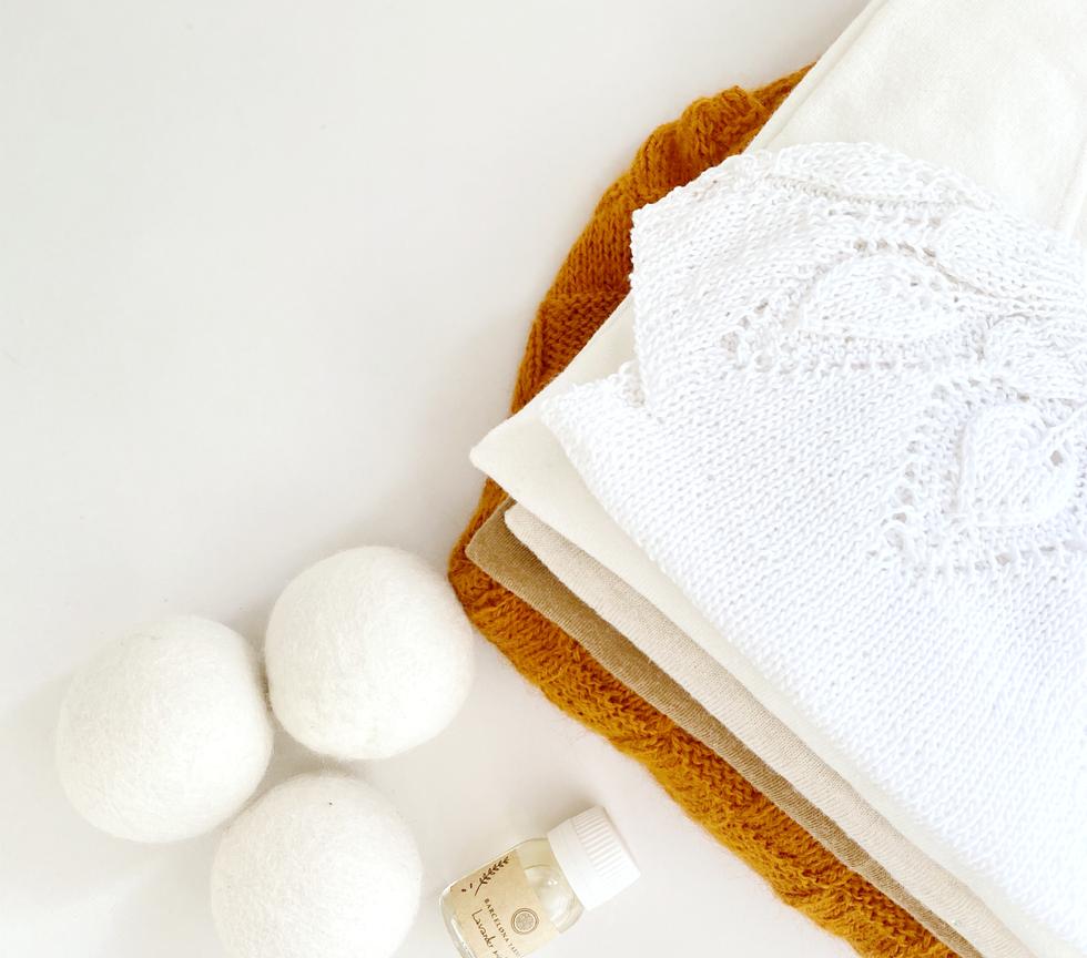 Pack bolas lana lavadora y secadora