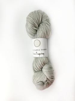 fingering pearl grey barcelona yarns
