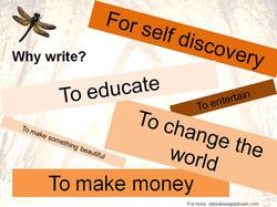 Reasons to Write