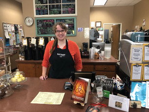 Who knew this gem of a bookstore/coffee shop was hidden in Shawano, WI?  Please stop at Beans and Bo