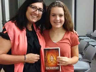 What a blast to chat with a dystopian-lover in Kaukauna!