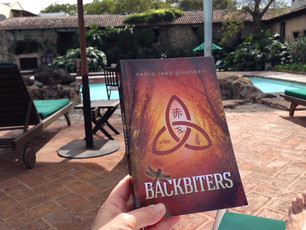 """""""Backbiters"""" has made it to Guatemala. Thank you for the pic, Sara!"""