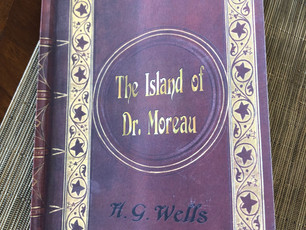 """I can't knock a classic by H.G. Wells, in this case, """"The Island of Dr. Moreau,"""" so I will caution y"""