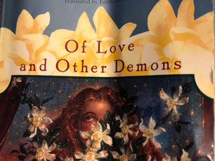 "Ethnocentricity of Love:   I recently finished ""Of Love and Other Demons,"" by Gabriel Garc"