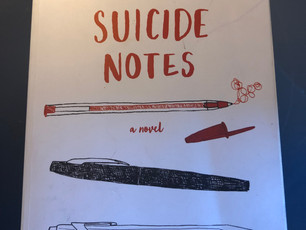 """Thoughts on Books: """"Suicide Notes,""""  a novel by MTF, makes sense for ages 14-18-year-old y"""