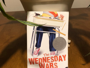 """Thoughts on books: """"The Wednesday Wars"""" is a bittersweet story about a middle grade kid who faces mi"""