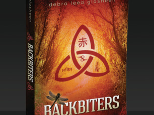 Backbiters is on shelves today! (electronic shelves: https://www.amazon.com/dp/1940233445/ref=sr_1_1