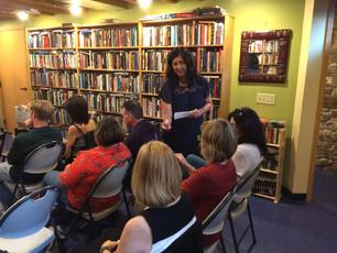 Author Chat at Voyageur Book Shop!