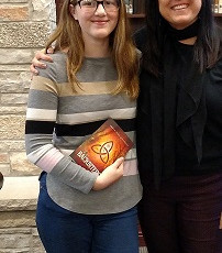 Hoping to work with more young writers in 2018! Watch for Karma's work in the future!
