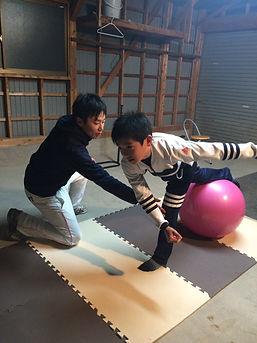 ピッチングルーム フィジカルトレーニング