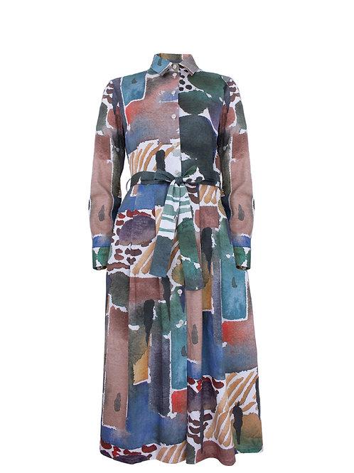 Hemdkleid Marie, San Gimignano