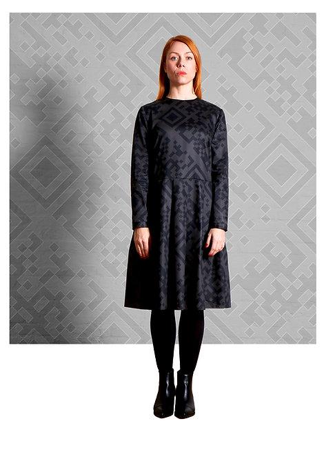 Dress Eve, QR Black