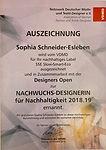 VDMD Nachhaltigkeits Preis Sophia Schneide Esleben