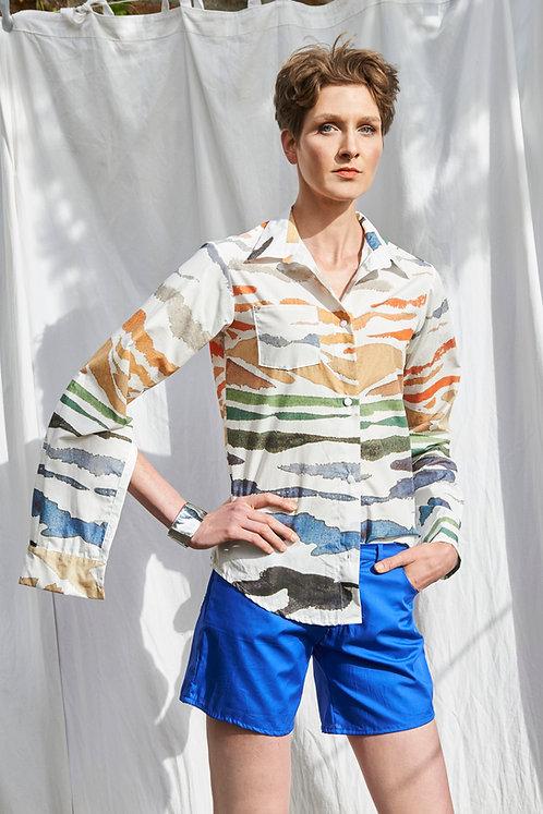 Unisex Shirt Lui, Mare e Monti White