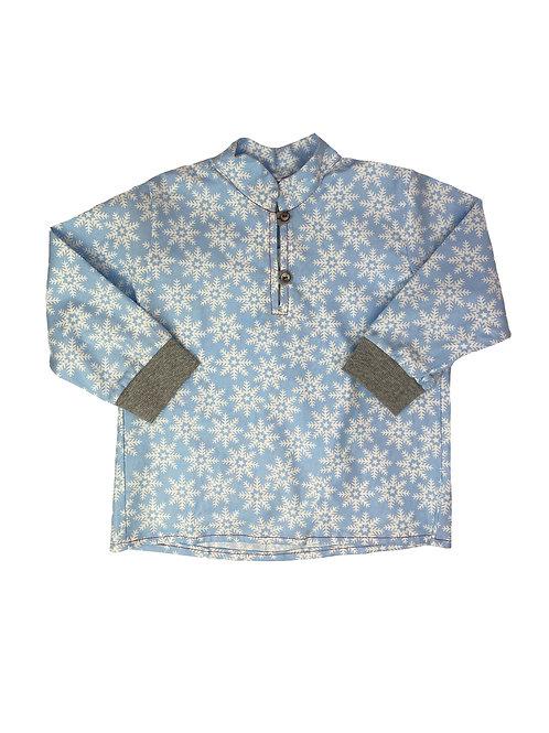 Unisex Hemdchen zum Knöpfen, Christall