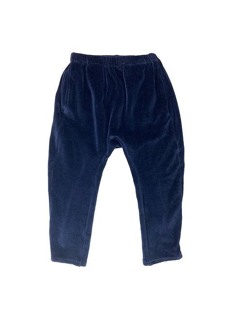 Velvet blue, unisex pants