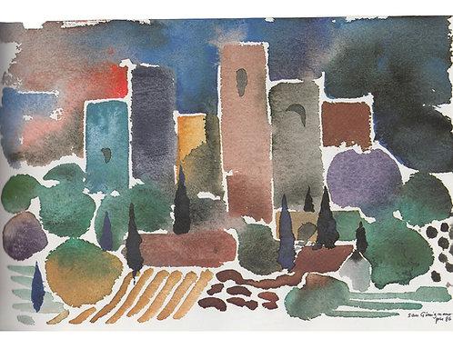 Postcard San Gimignano