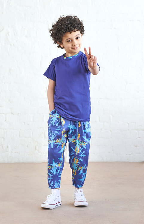 Kids Unisex Pants, Europa