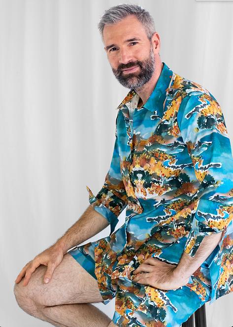 Unisex Shirt Lui, Mimosa
