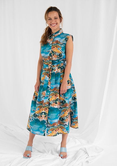 Shirt Dress Marie, Mimosa