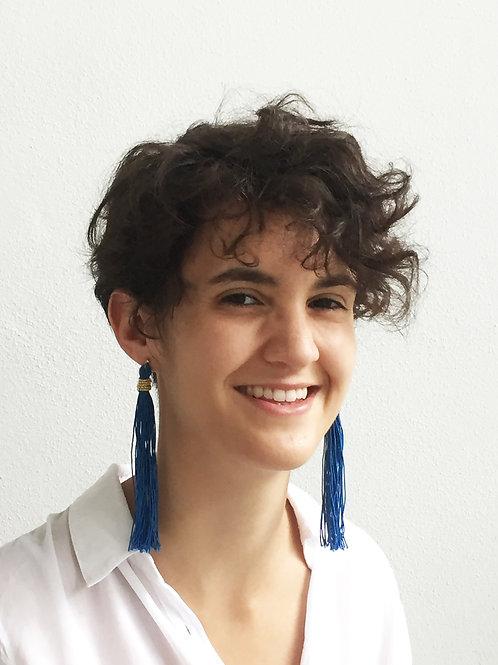 Tassels earring / tassels earring