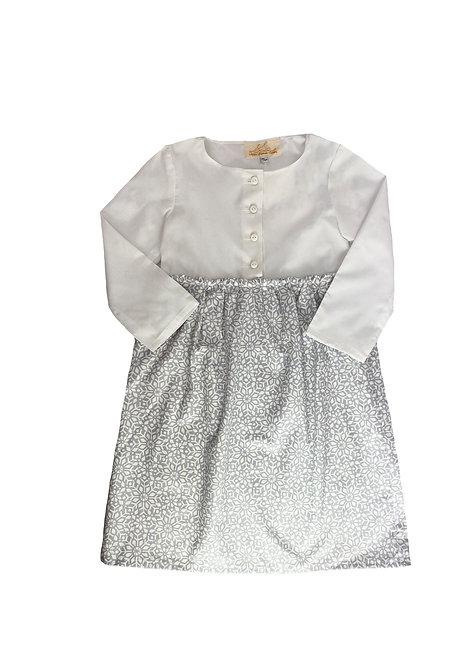 Hemdkleid - Christall Weiß