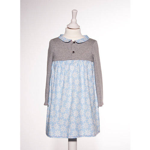 Kleid Klara - Kristall Blau