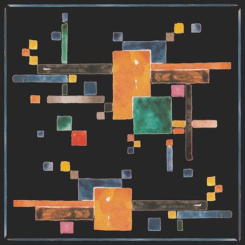 Black Bauhaus Scarf