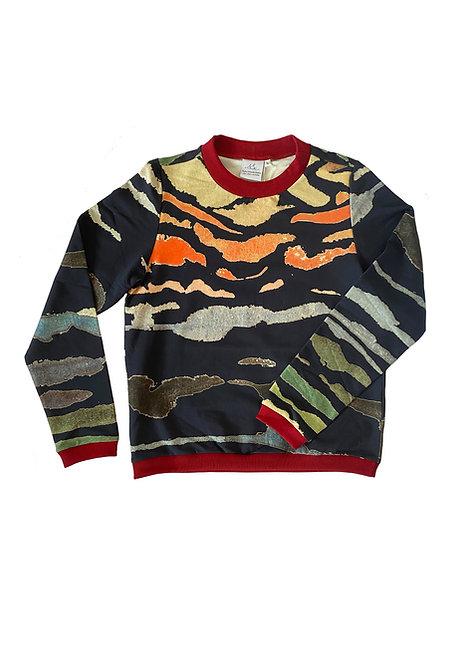 Unisex Sweater Noa, Mare e Monti Blue