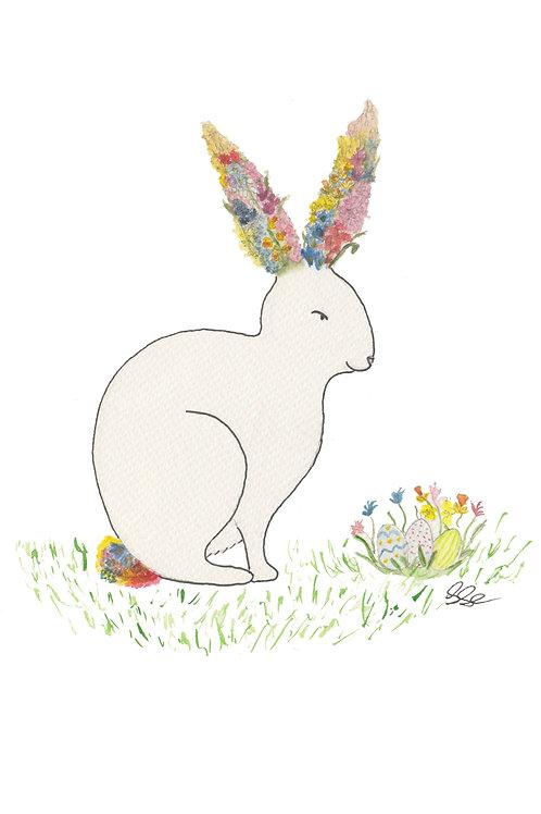 Postcard - Postcard Easter Bunny