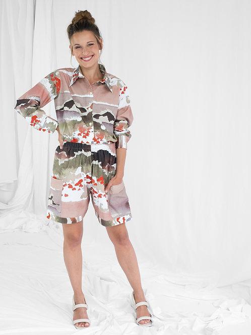 Unisex Shirt Lui, Poppy