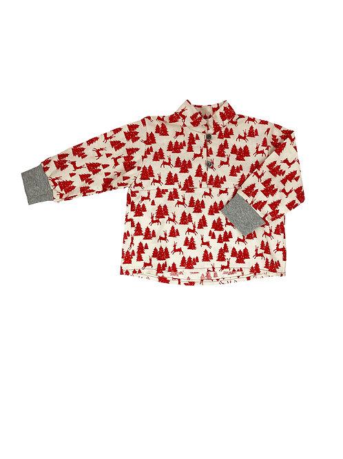 Unisex Hemdchen zum Knöpfen, Waldlandschaft