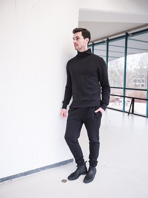 Unisex sweater Max Black