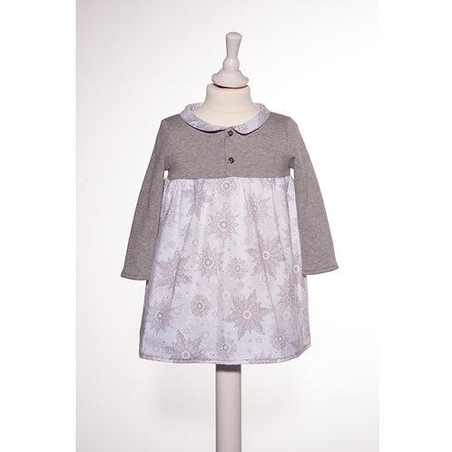 Kleid Klara Kristall Silber