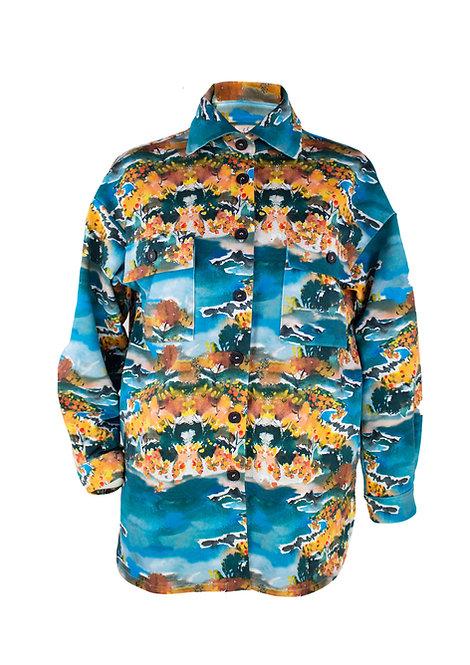 Home unisex jacket, Mimosa