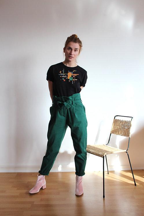 Black Bauhaus BoyGirl Shirt