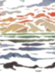 Rapport Mare e Monti frei 80x155cm Kopie