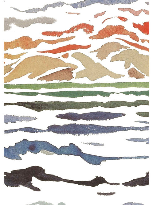 Postkarte Mare e Monti