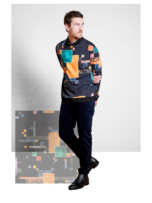 Unisex Sweater Jesse, Triadic