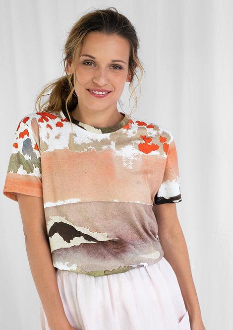 Unisex T-Shirt Mio, Mohn